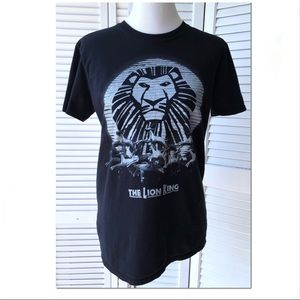 Euc Lion King on Broadway Glitter t-shirt Sz m